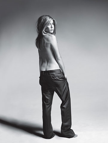 Jennifer Aniston's photo spread for