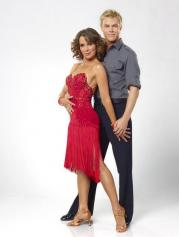 Jennifer Grey and Derek Hough