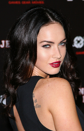 "You better put on your sexy shoes for this movie!"" Jennifer. Megan Fox +"