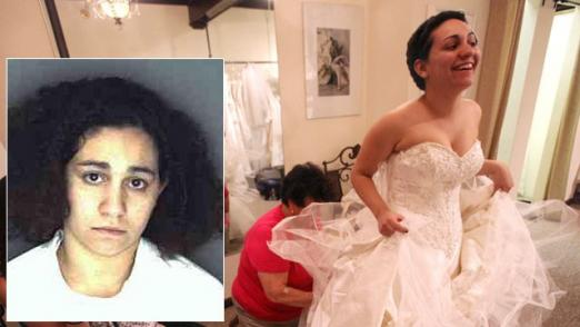 jessica vega wedding 522x294 Jessica Vega, Bride Who Faked Cancer to Pay For Wedding, Released From Jail