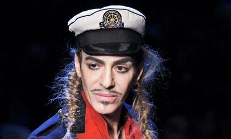 John Galliano Pic. The designer, who has dressed celebs such Nicole Kidman,