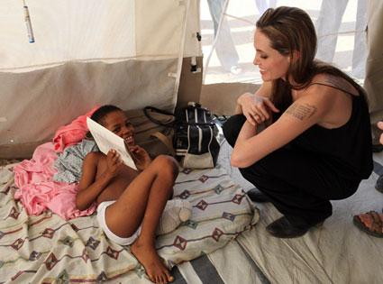 Jolie in Haiti