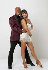 J.R. Martinez and Karina Smirnoff