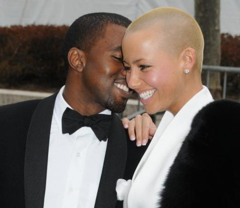 amber rose and kanye west at bet awards. Kanye and Amber Rose