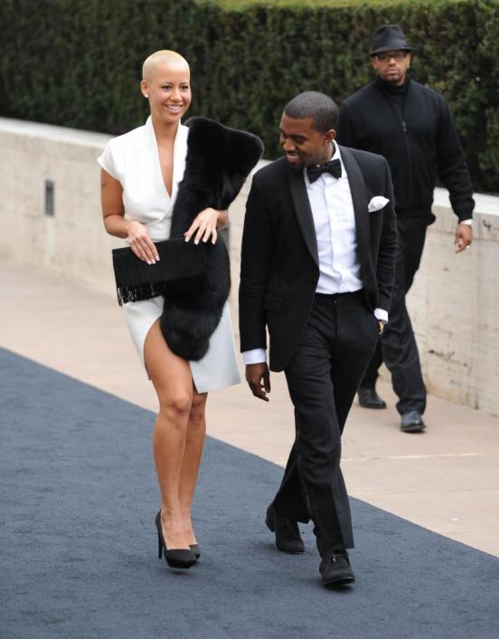 amber rose and kanye west pictures. Kanye West, Amber Rose Pic