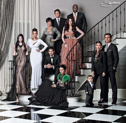 kardashian christmas card. Kardashian Christmas Card