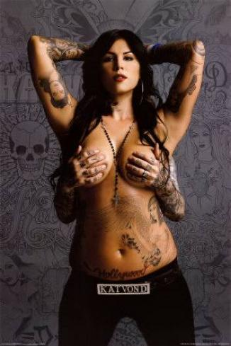 kat von d naked 326x489 ... by the National Gay and Lesbian Task Force, after he worked with Gov.