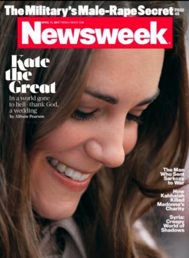 newsweek. Kate Middleton Newsweek Cover