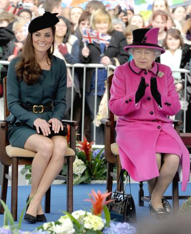 Kate Middleton, Queen Elizabeth II