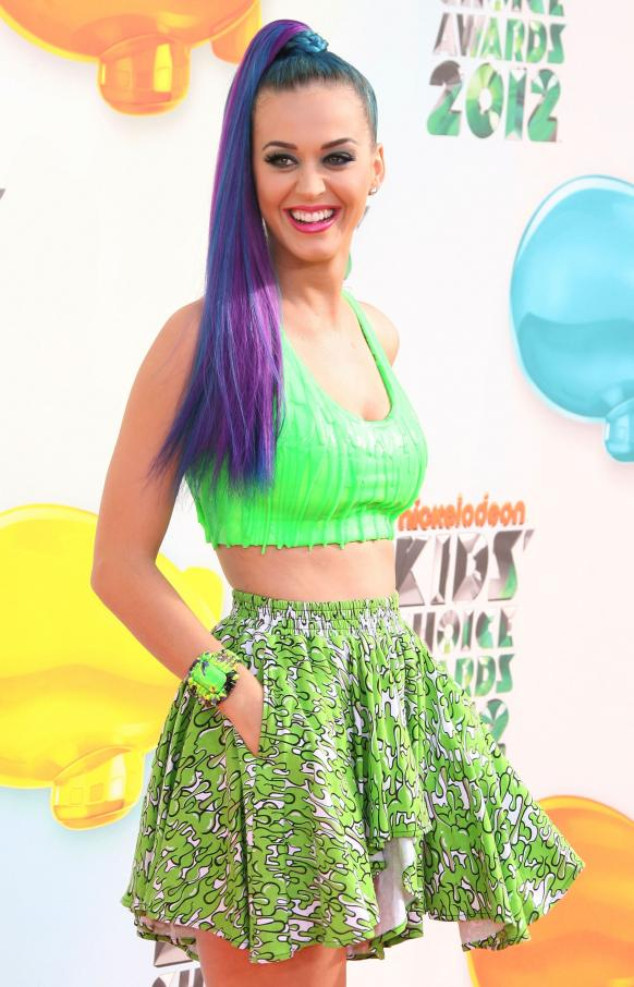 Katy Perry at Kids' Choice Awards