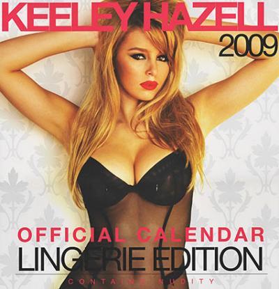 keeley hazell 2009 calendar 400x415 Dustin Diamond, February 2005