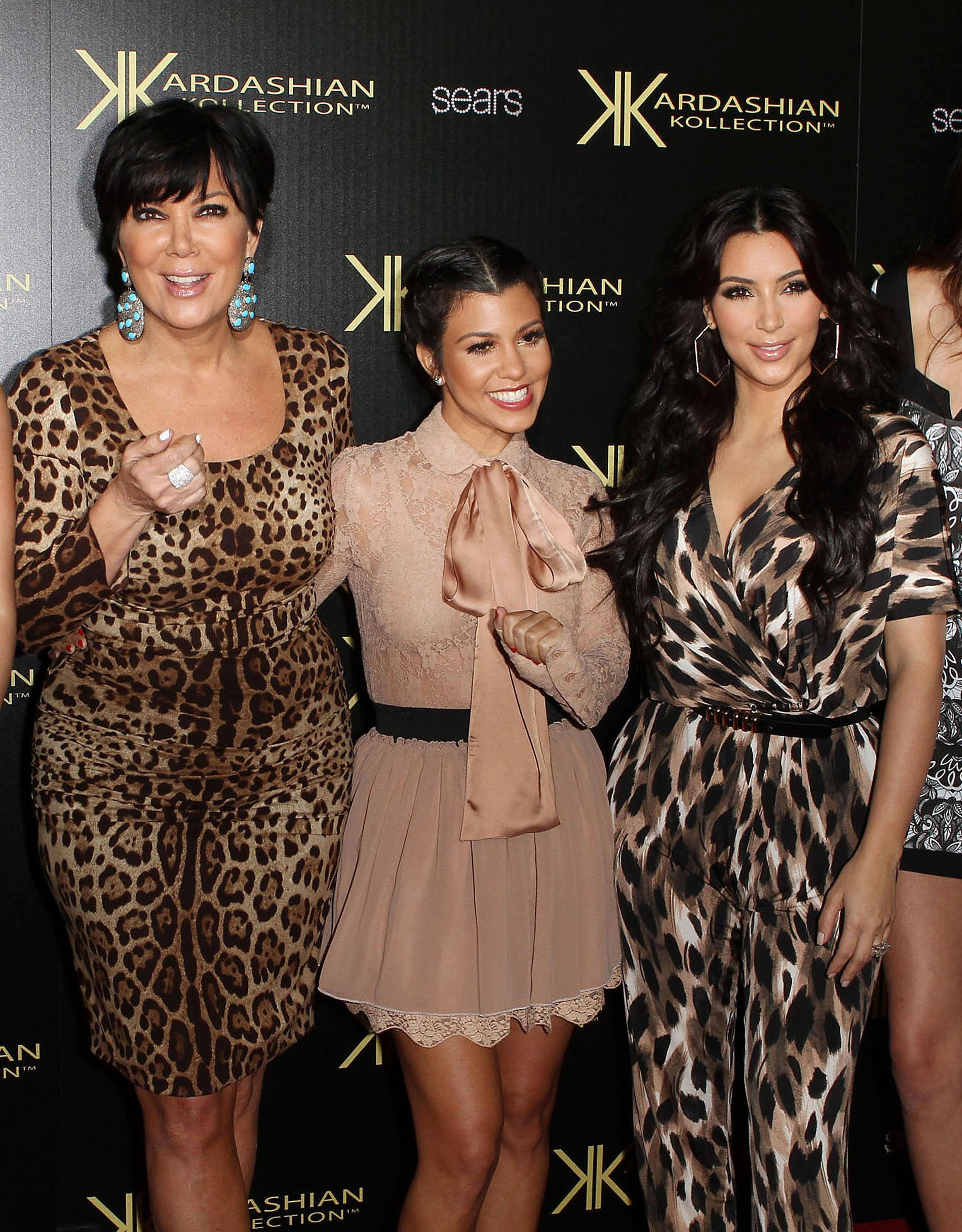 Bruce and Kris Kardashian Jenner