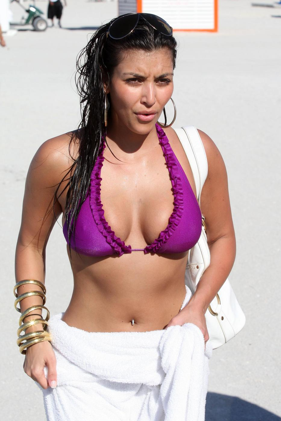 Kim Kardashian Bathing Suit
