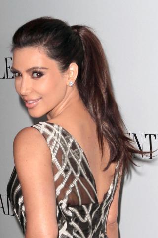 Kim Kardashian on Rodeo Drive Kardashian added that she and her sisters