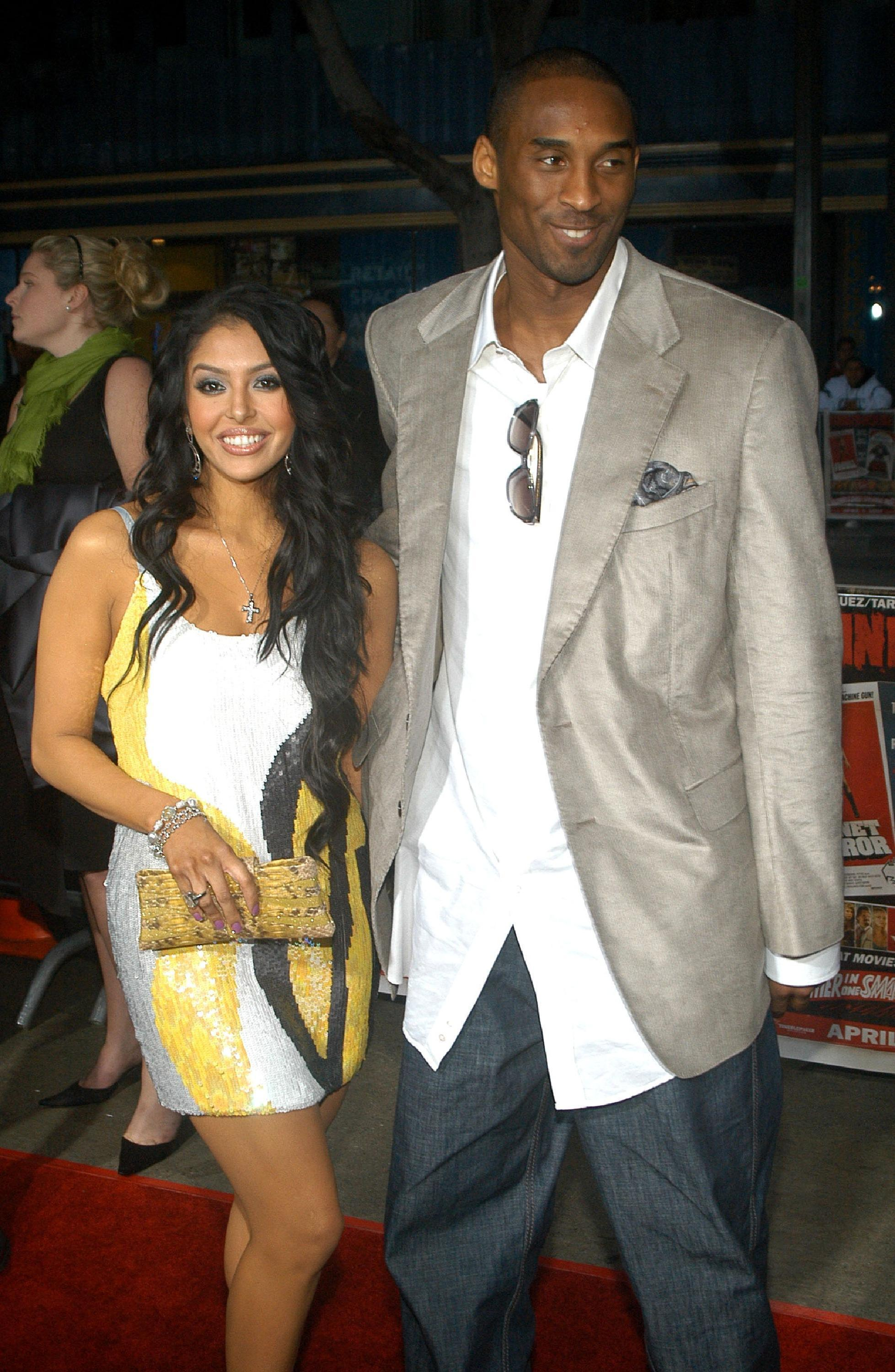 kobe bryant wife vanessa. Kobe Bryant and his wife
