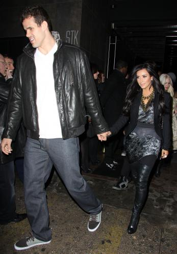 Kardashian  Kris Humphries on Kim Kardashian Enjoys  Yummy  Dinner With Kris Humphries  Family   The