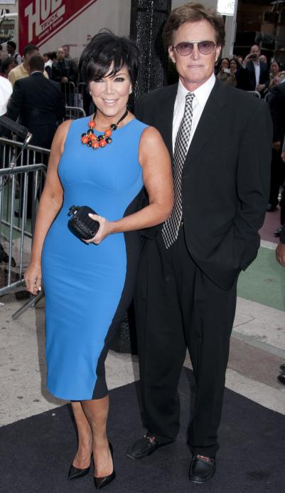 kris jenner and bruce jenner 401x692 Kris Jenner: Cheating on Bruce Jenner With Todd Waterman?