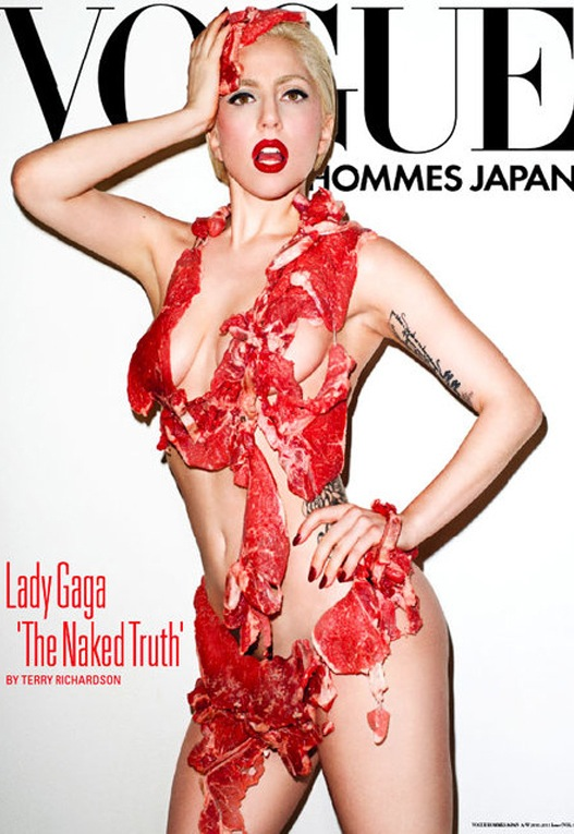 Lady Gaga can pull off a meat bikini like the best of them.