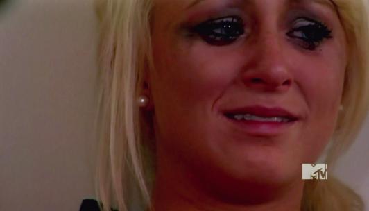 Leah Messer Cries