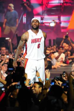 LeBron James in Miami