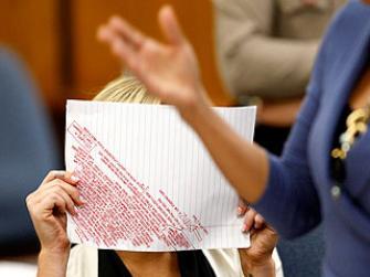 Lindsay Lohan Legal Pad