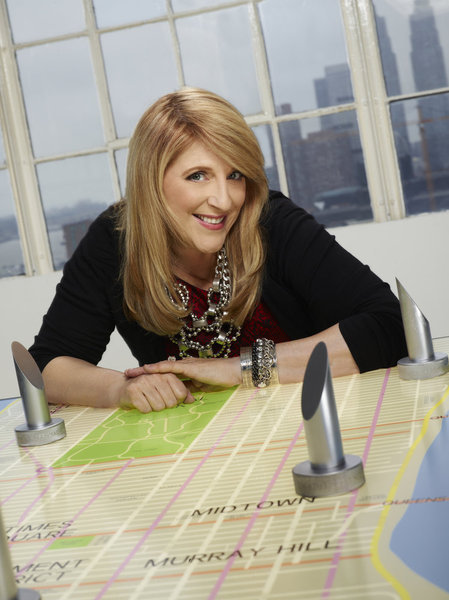 Lisa Lampanelli in a promotional photo for Celebrity Apprentice.