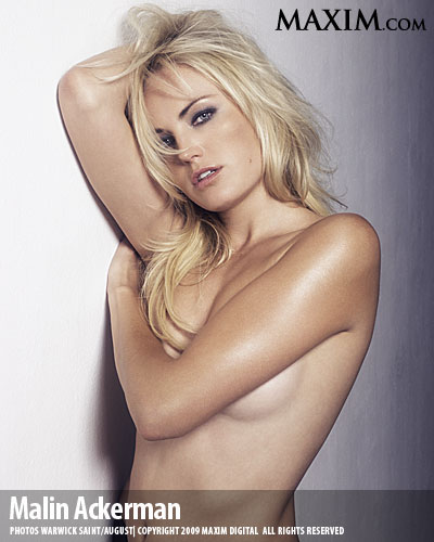 Malin Akerman Topless The