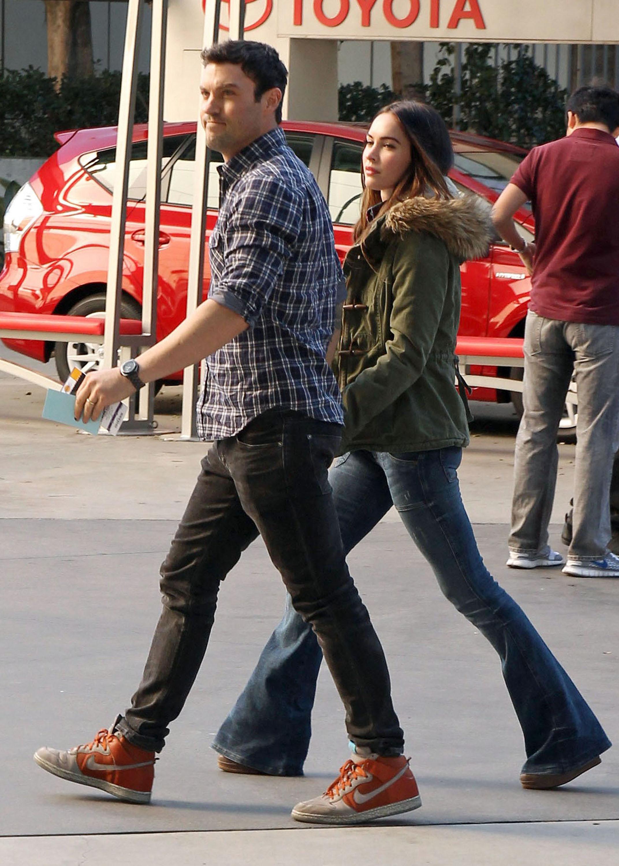 Megan Fox and Brian Austin Green Photo