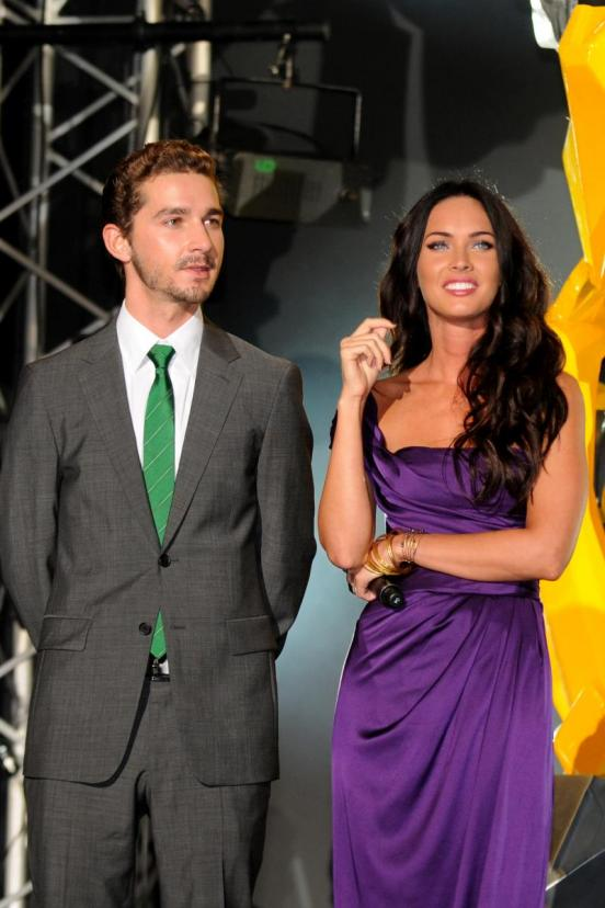 shia labeouf girlfriend megan fox. Shia Labeouf And Megan Fox