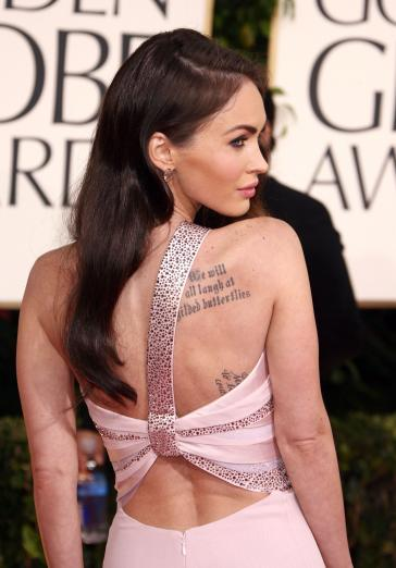 Megan Fox Golden Globes Interview. Megan Fox at the Golden Globes