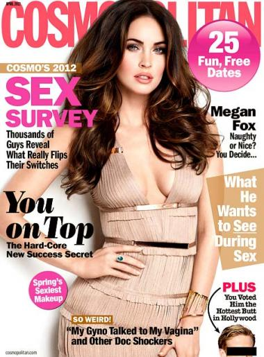 Megan Fox Cosmo Cover