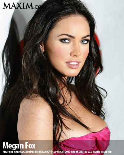 Megan Fox was born to win this competition. But she came in at #2 on Maxim's