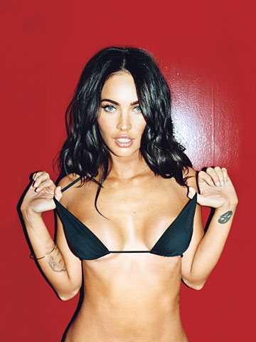 megan fox photo gallery in gq