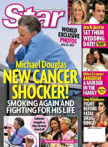 Michael Douglas Cancer Shocker