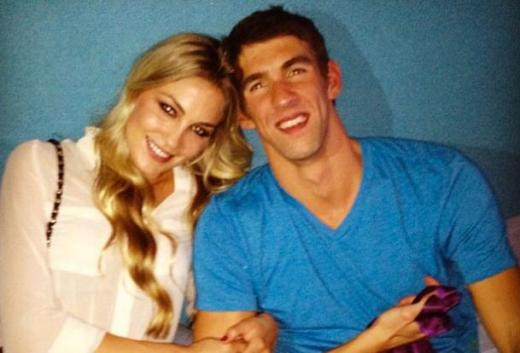 Michael Phelps and girlfriend
