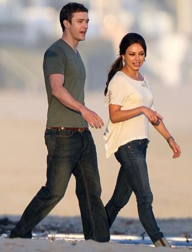 justin timberlake and mila kunis movie. Mila Kunis and Justin