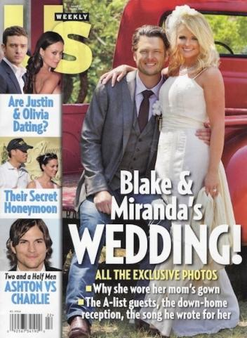 Here 39s Miranda Lambert 39s wedding dress or the dress formerly known as