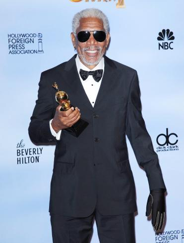 morgan freeman pic 371x490 Golden Globe Awards 2012: List of Winners!