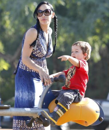 Nadya and Child