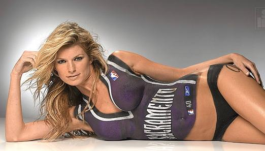 Marisa miller body paint nude opinion