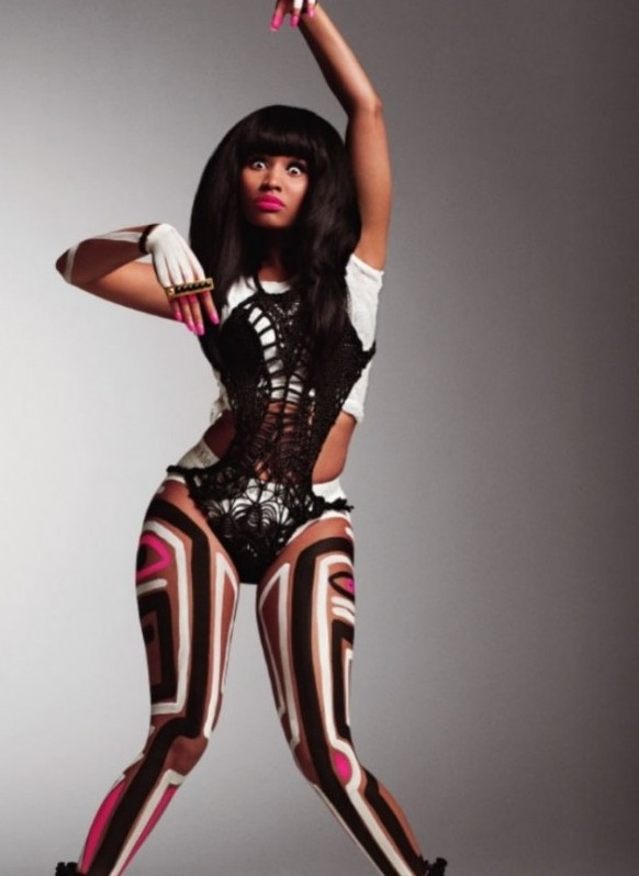 Nicki Minaj for V