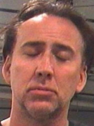 Nicolas Cage was arrested in a whopper of a celebrity scandal earlier today.