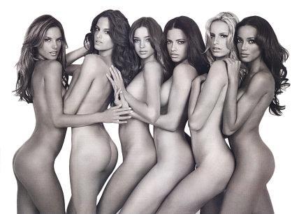 Nude Models! Tags: Alessandra Ambrosio, Adriana Lima, Miranda Kerr
