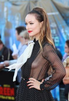 Olivia Wilde Side Boob Dress | Olivia Wilde