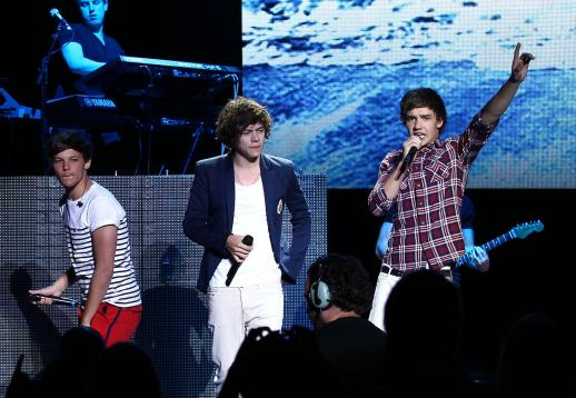 One Direction on Stage