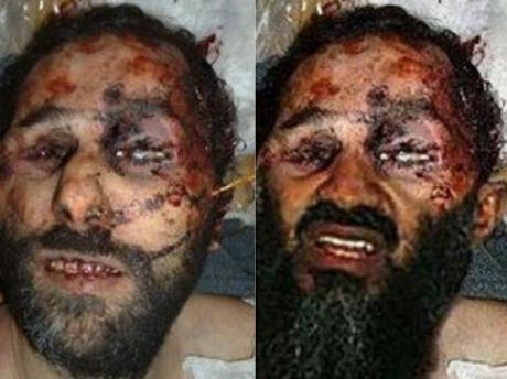Osama in Laden. Osama bin Laden Death Photo