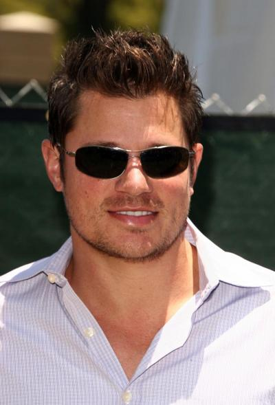 Nick Lachey didn't comment on the bare boning of the situation as he took ...