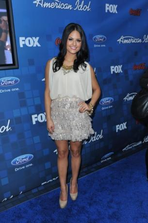 american idol pia voted off. When might Pia Toscano release