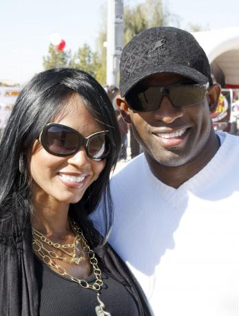 Pilar Sanders and Deion Sanders
