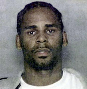 R. Kelly Booking Photo.